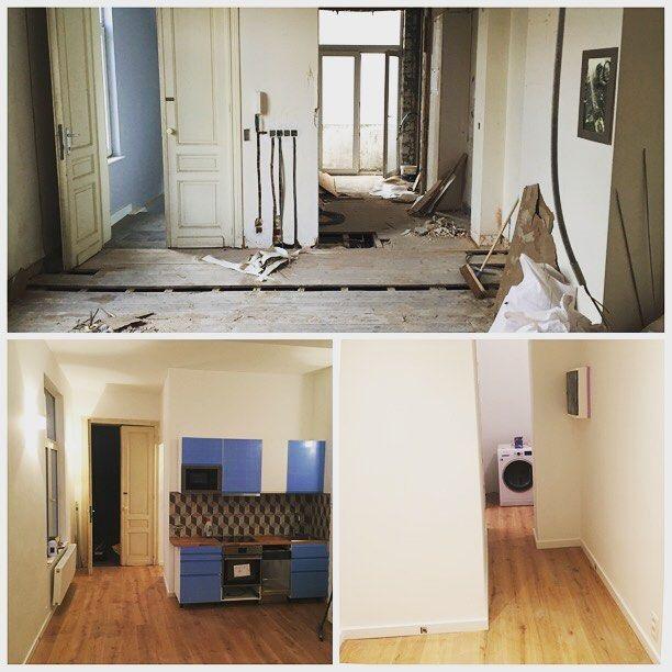 Transformation et aménagement complet du0027un appartement à Bruxelles