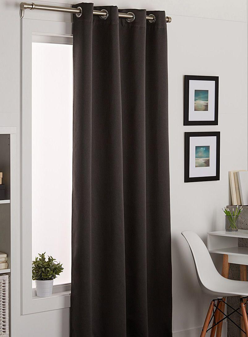 Silky Curtain 140 X 220 Cm Curtains White Curtains Black Curtains