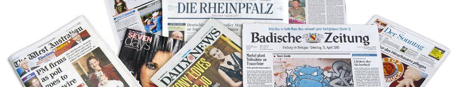 German Newspapers : Deutsche Zeitungen : Newspapers from Germany : German News : Europe