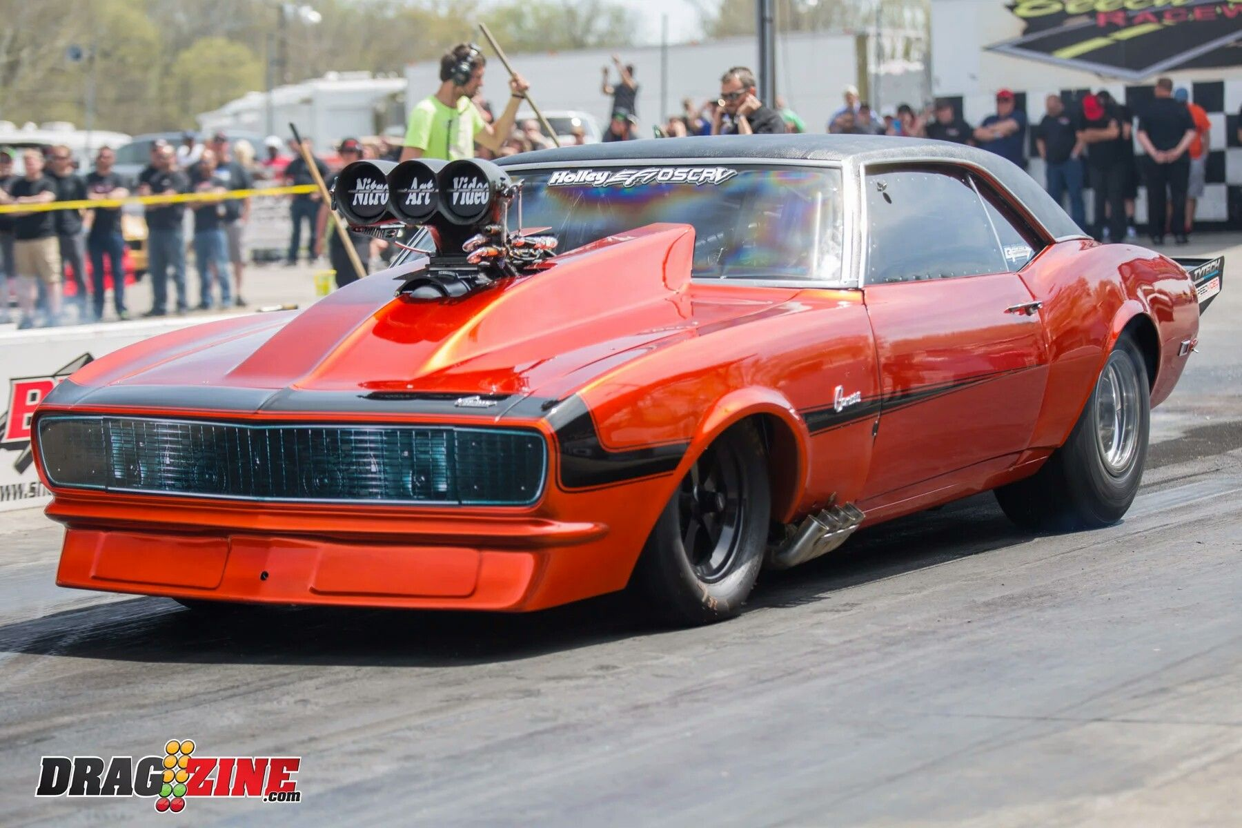 Omg That S A Large Supercharger And Blower Chevy Muscle Cars Drag Cars Gm Car