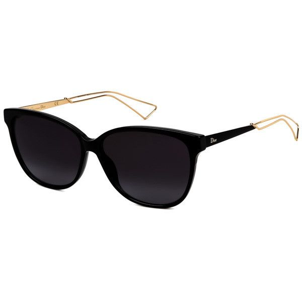 f1b9fd879d Dior CONFIDENT 2 QFE HD Sunglasses (€250) ❤ liked on Polyvore featuring