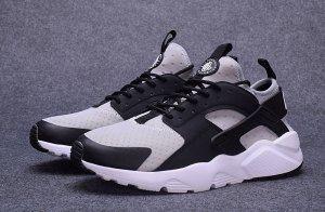 2cdd9b888c64 Mens Womens Nike Air Huarache Run Ultra Wolf Grey Black Cool Grey White 819685  010 Running Shoes