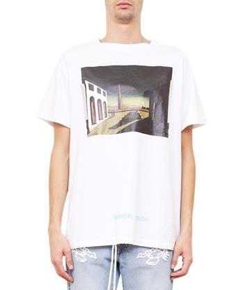 9f8f115de70e OFF-WHITE De Chirico Cotton T-Shirt.  off-white  cloth  t-shirt ...
