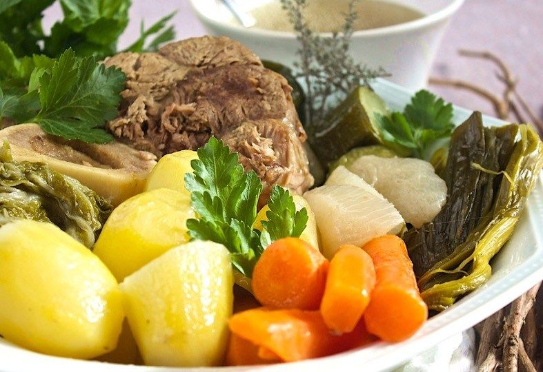 Photo of Pot-au-feu is one of the emblematic French dishes. This…