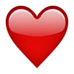The Heavy Black Heart Emoji On Iemoji Com Emoji De Coracao Coracao Vermelho Emoji