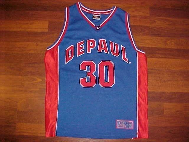 check out 3fa1b ce3d6 Colosseum NCAA Big East DePaul Blue Demons #30 Basketball ...