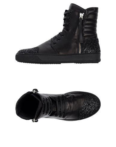 Bruno Bordese Black High-Top Sneakers