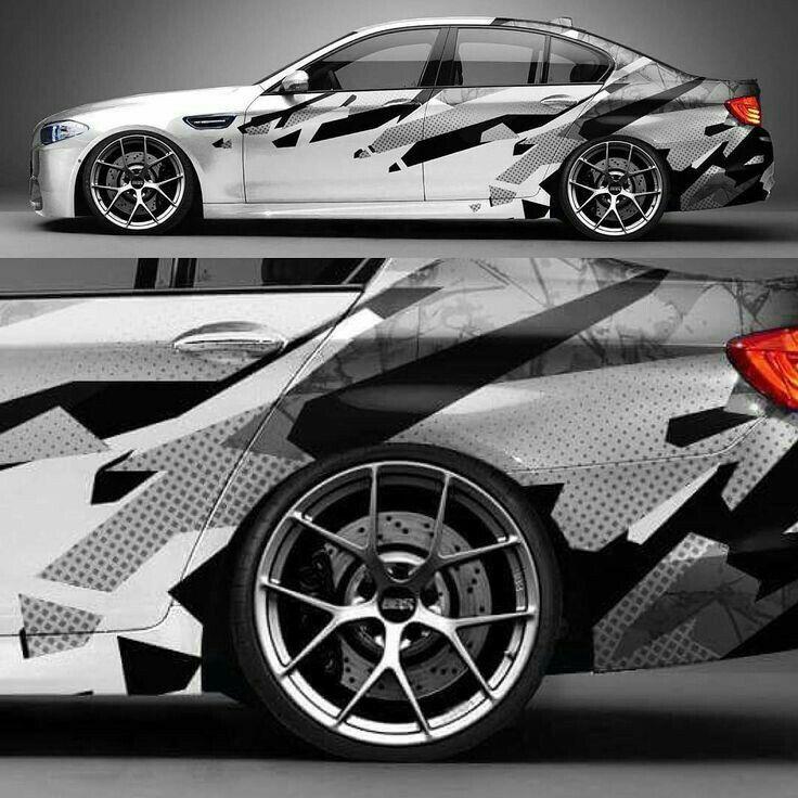 Bmw M5 Car Sticker Design Car Wrap Design Car Wrap