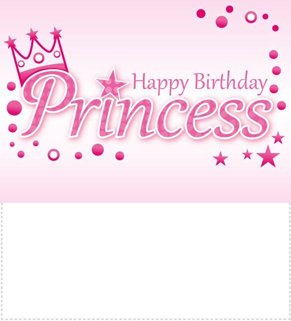 Happy Birthday Crown – Happy Birthday Princess Card