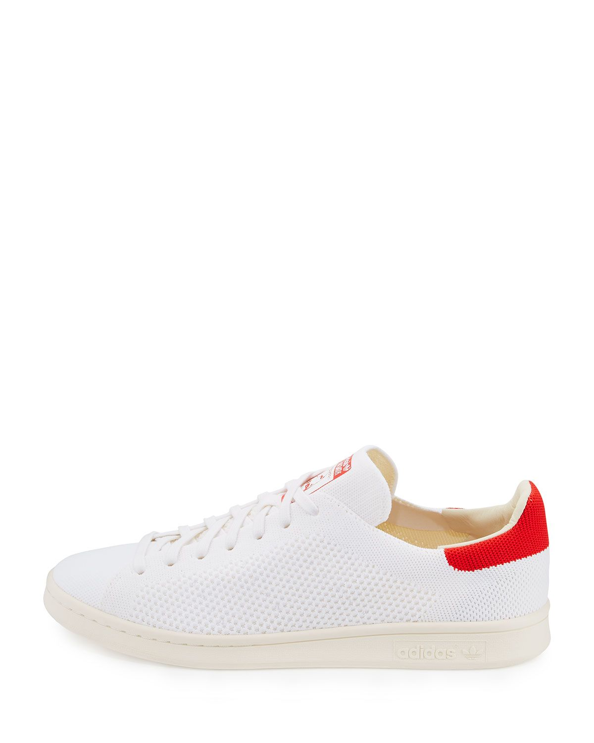 a44a7cf1ac8 Stan Smith Primeknit Sneakers White/Red | Products | Sneakers ...