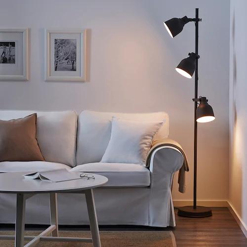 Lampadaire Design Lampadaires Salon Ou Exterieur Ikea En 2020 Hektar Ikea Lampadaire Lampadaire Liseuse