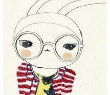 Fashion Fifi Lapin Rabbit Full Size Fifi Lapin Bunny Fashion Children S Book Illustration