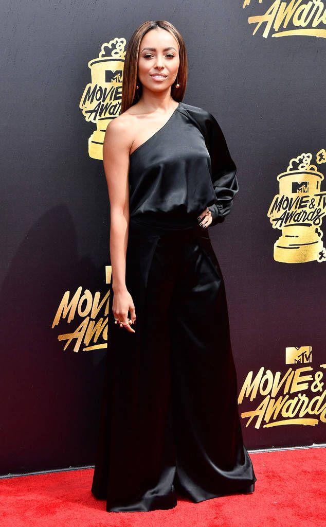 Kat Graham from MTV Movie & TV Awards 2017: Red Carpet Arrivals ...