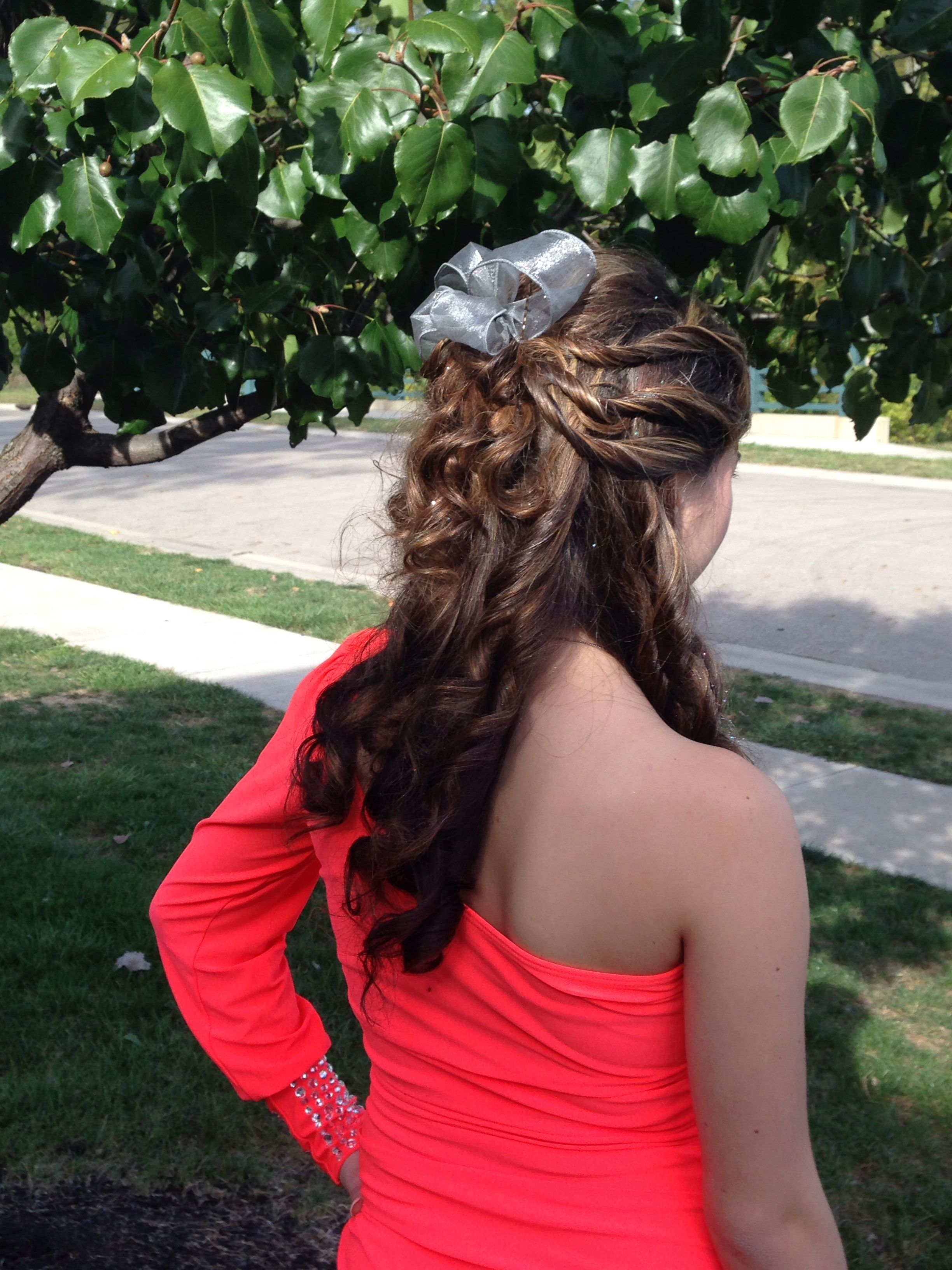 Homecoming hairstyle hair pinterest homecoming hairstyles
