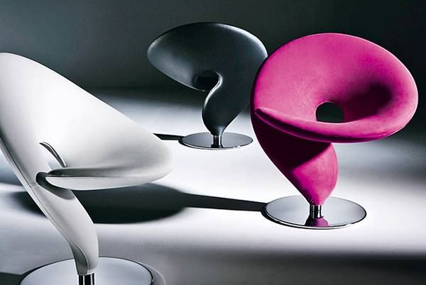 Question Mark Chair By Tonon, Is An Extravagant Multi Award Winning Swivel  Lounge Chair, With A Unique Silhouette And Iconic Timeless Design
