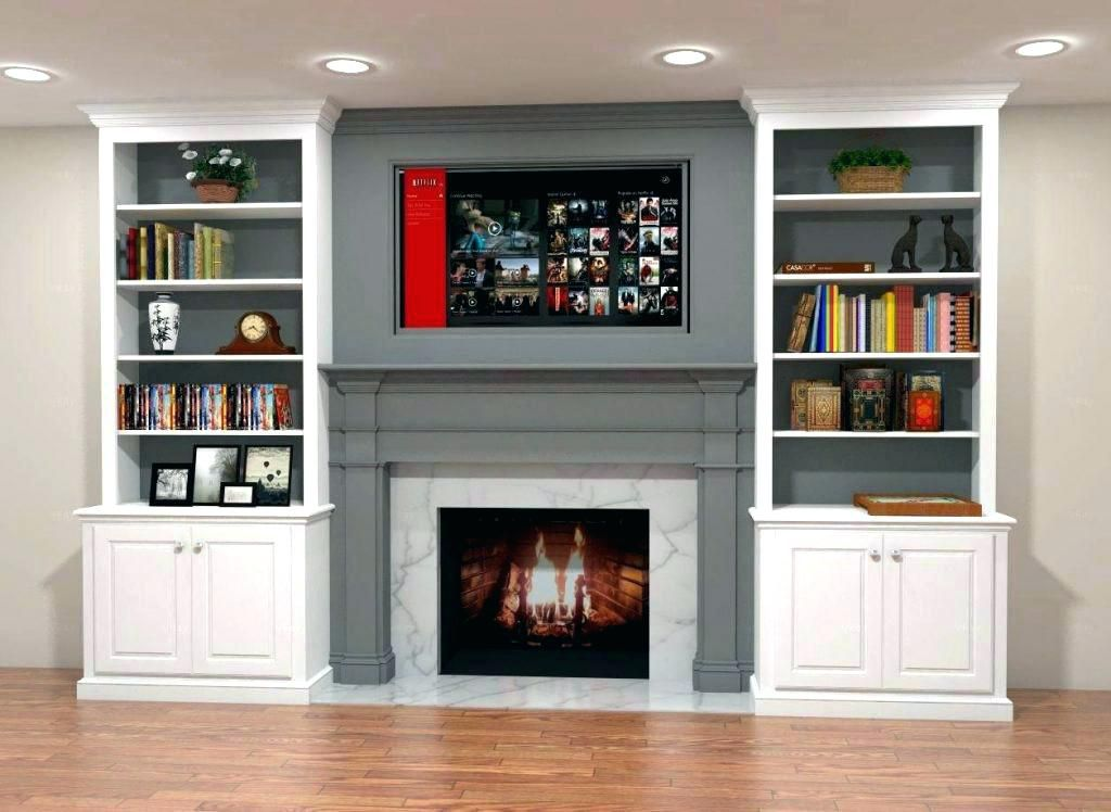 Built In Bookcases Fireplace Plans Home Ideas Built In Around