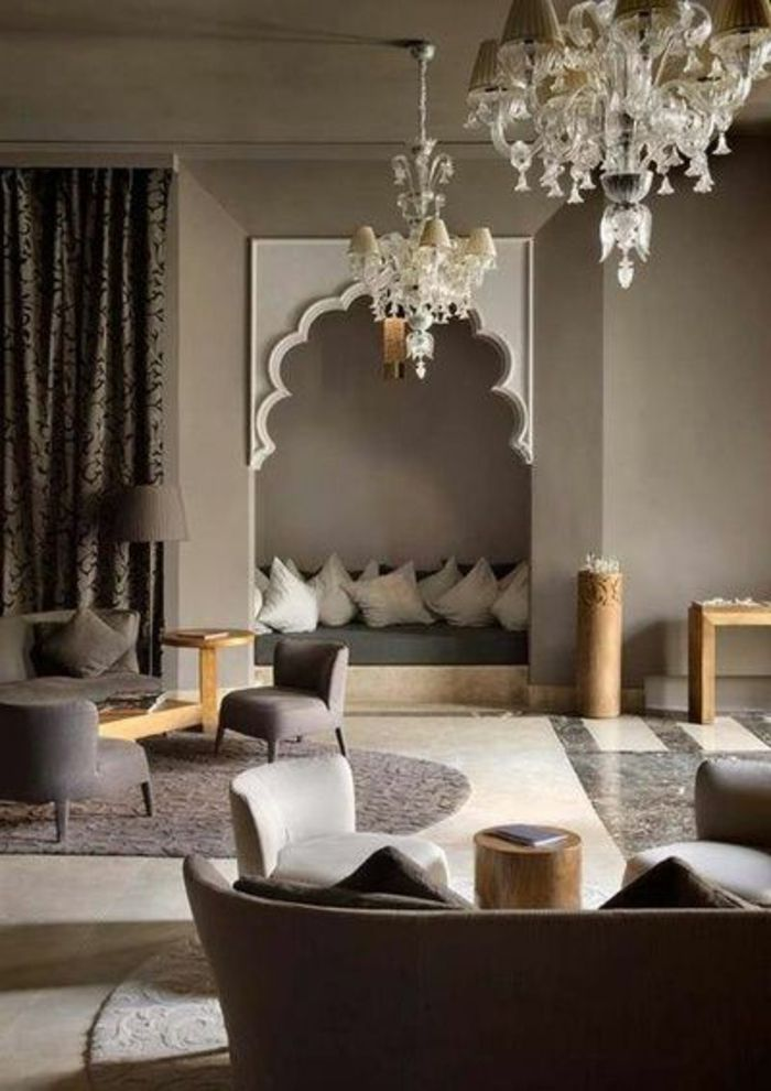 130 ideen f r orientalische deko luxus pur in ihrer wohnung wohnzimmer orientalisch. Black Bedroom Furniture Sets. Home Design Ideas