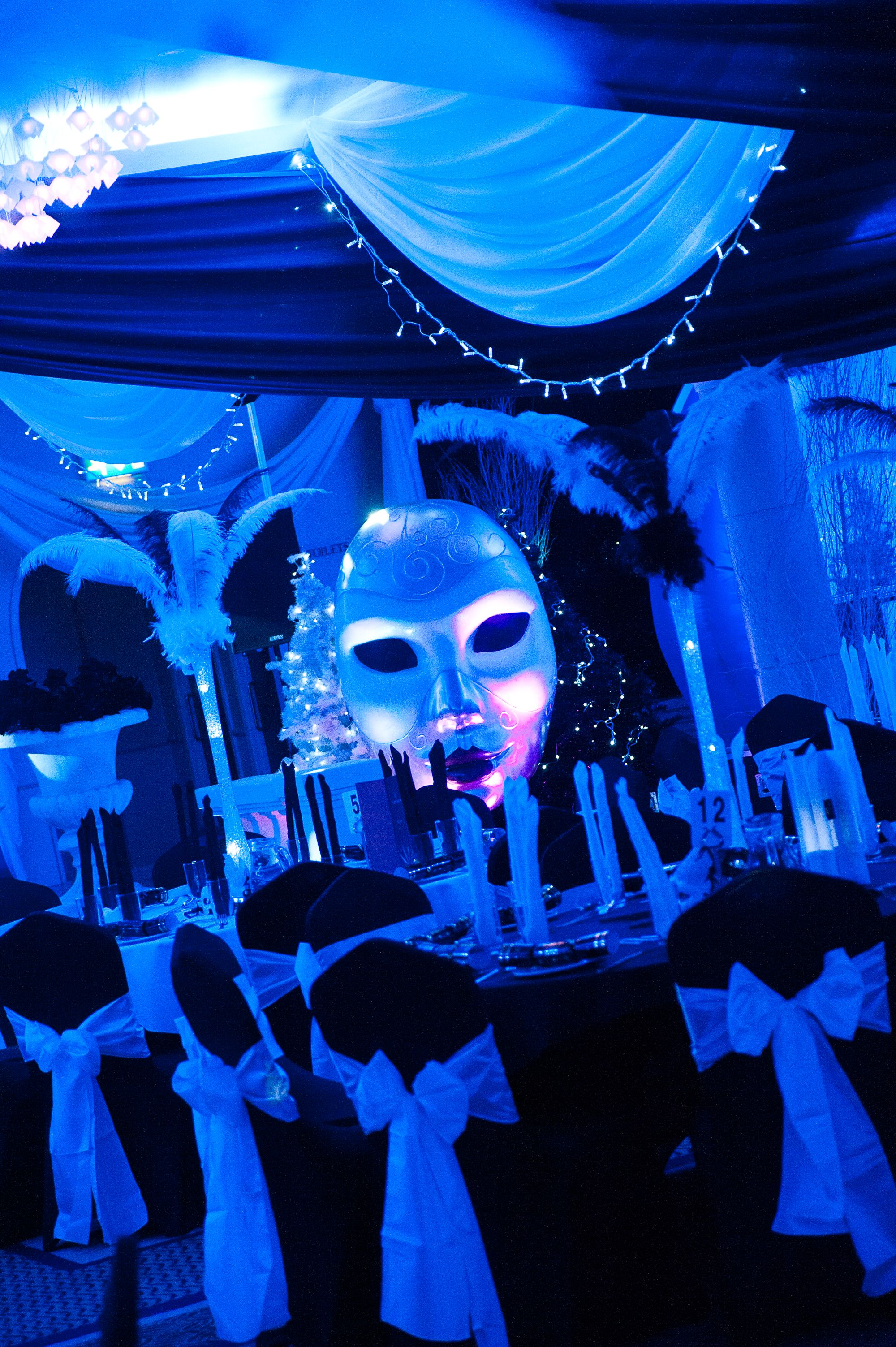 Black White Masquerade Ball At The Auction House Photo By Www