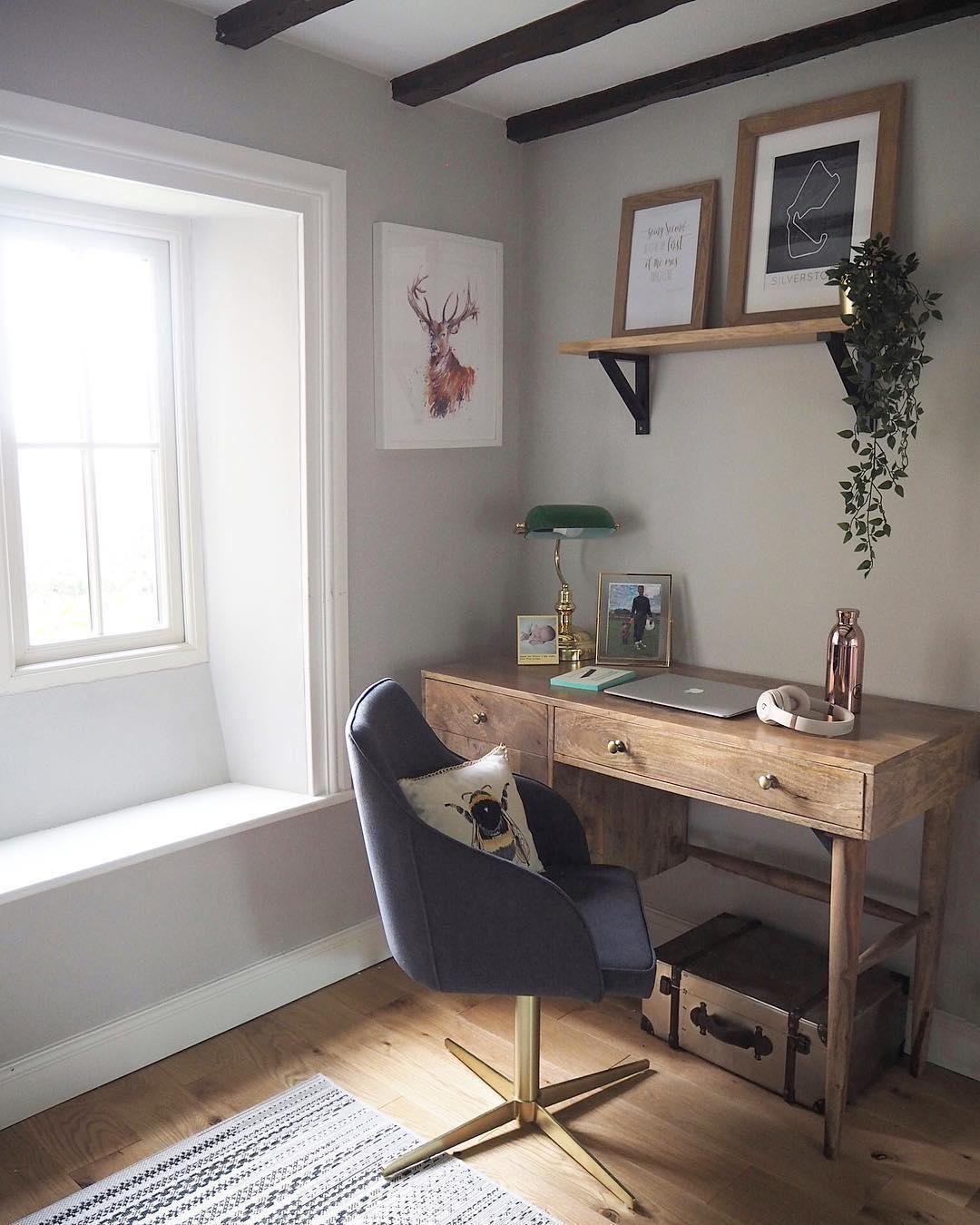 Made Com Chaises De Bureau Laiton Gris Home Decor Furniture Chair