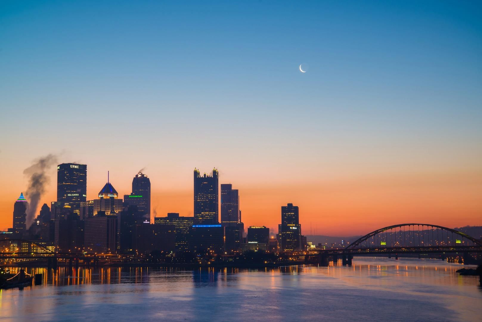 Pittsburgh skyline - photography by Dave DiCello
