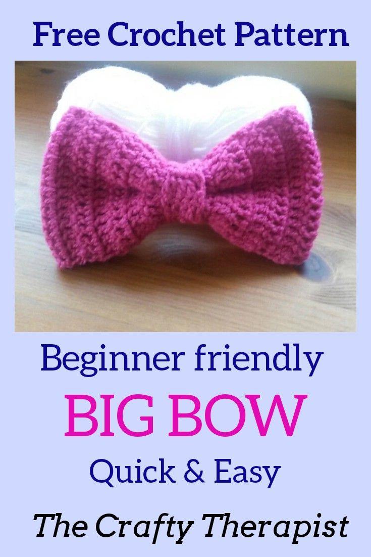 Big Bow FREE Crochet Pattern