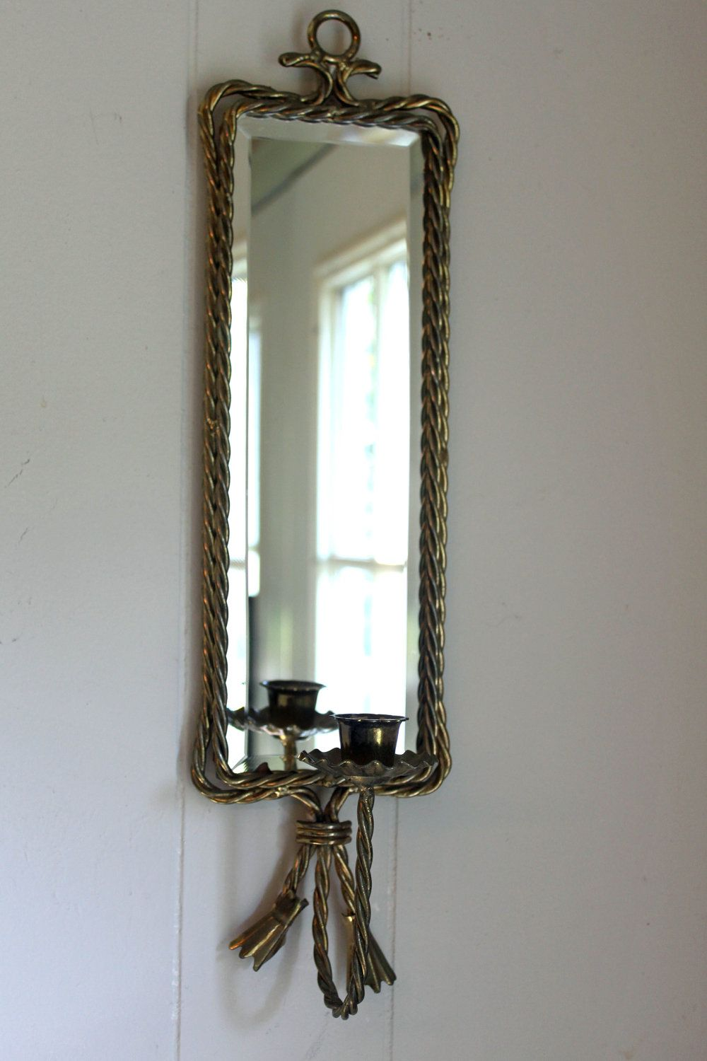 RESERVED FOR REBECCA 2 Vintage Beautiful Gold Twisted ...