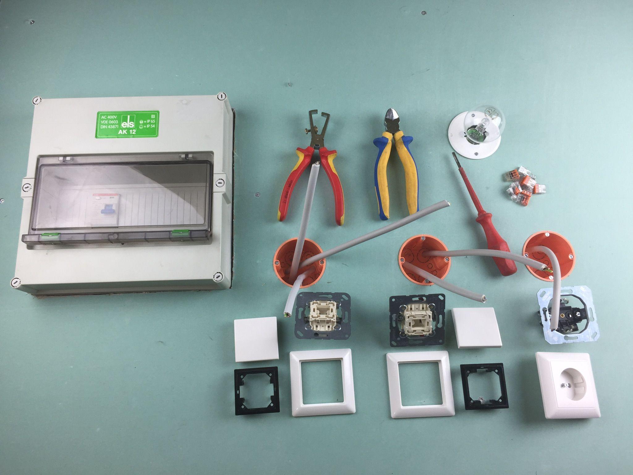 Elektroinstallation Anleitungen | Elektroinstallation | Pinterest ...