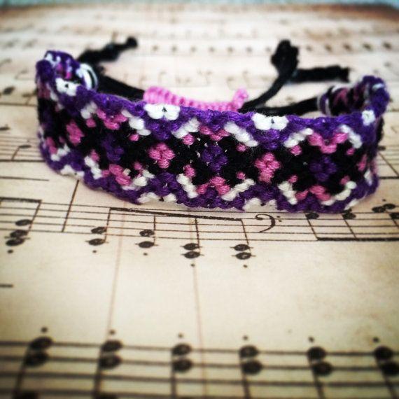 Multicoloured friendship bracelet