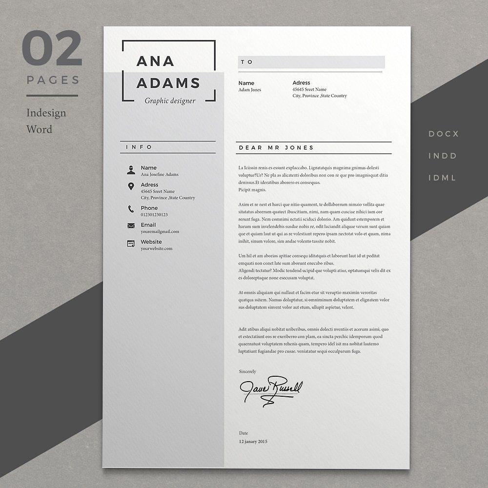 Resume Ana Blog post layout, Cover letter for resume