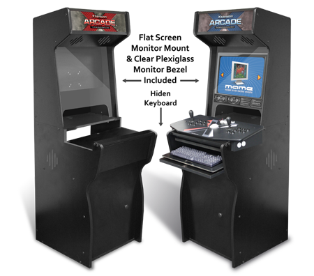 Arcade cabinet from Xtension. Arcade cabinet equipment from ...