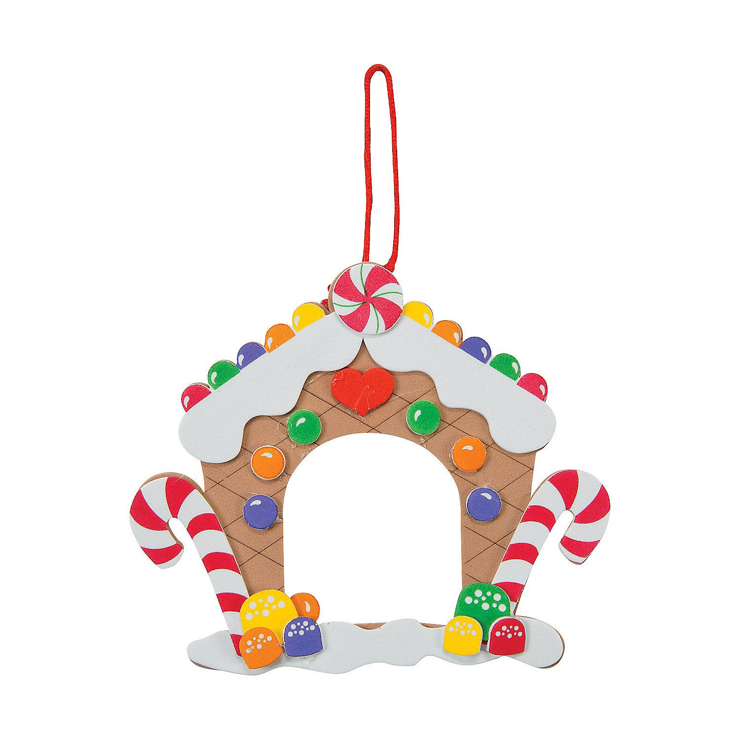 Showcase Your Favorite Festive Photo In This Gingerbread House Picture