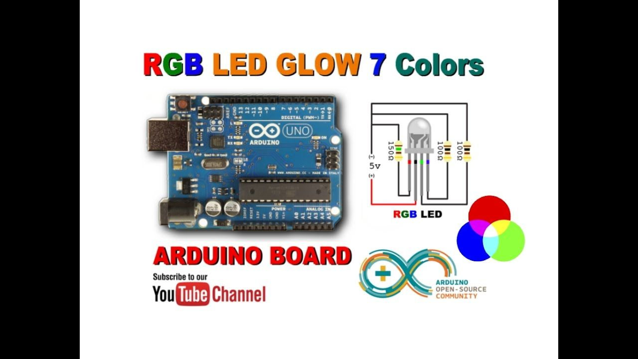 Tishitu Rgb Led Glow With Proteus Simulator And Arduino Boars The Complete Electronics Design System
