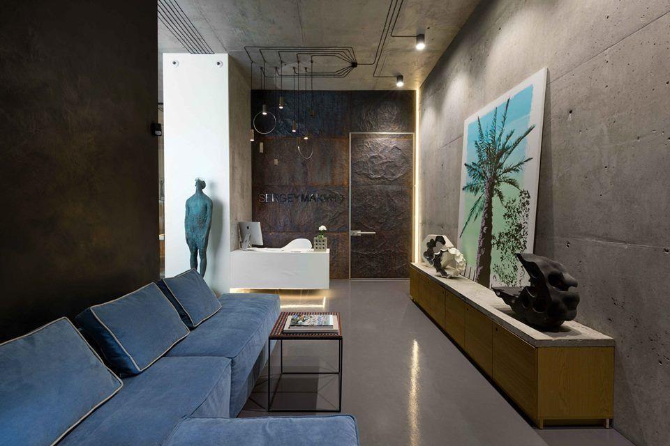 Office and showroom of architectural workshop sergey makhno instalacion electrica vista