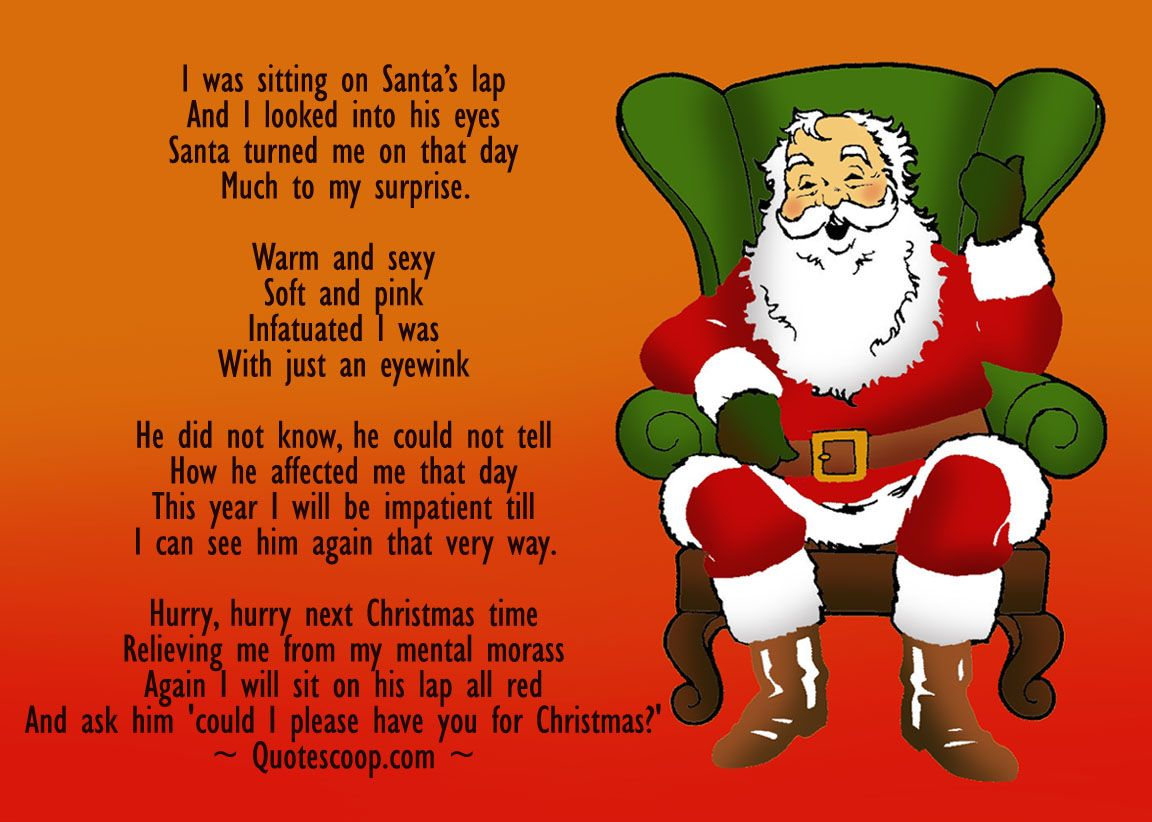 Funny Christmas poems are a sure shot way to bring a smile on the ...