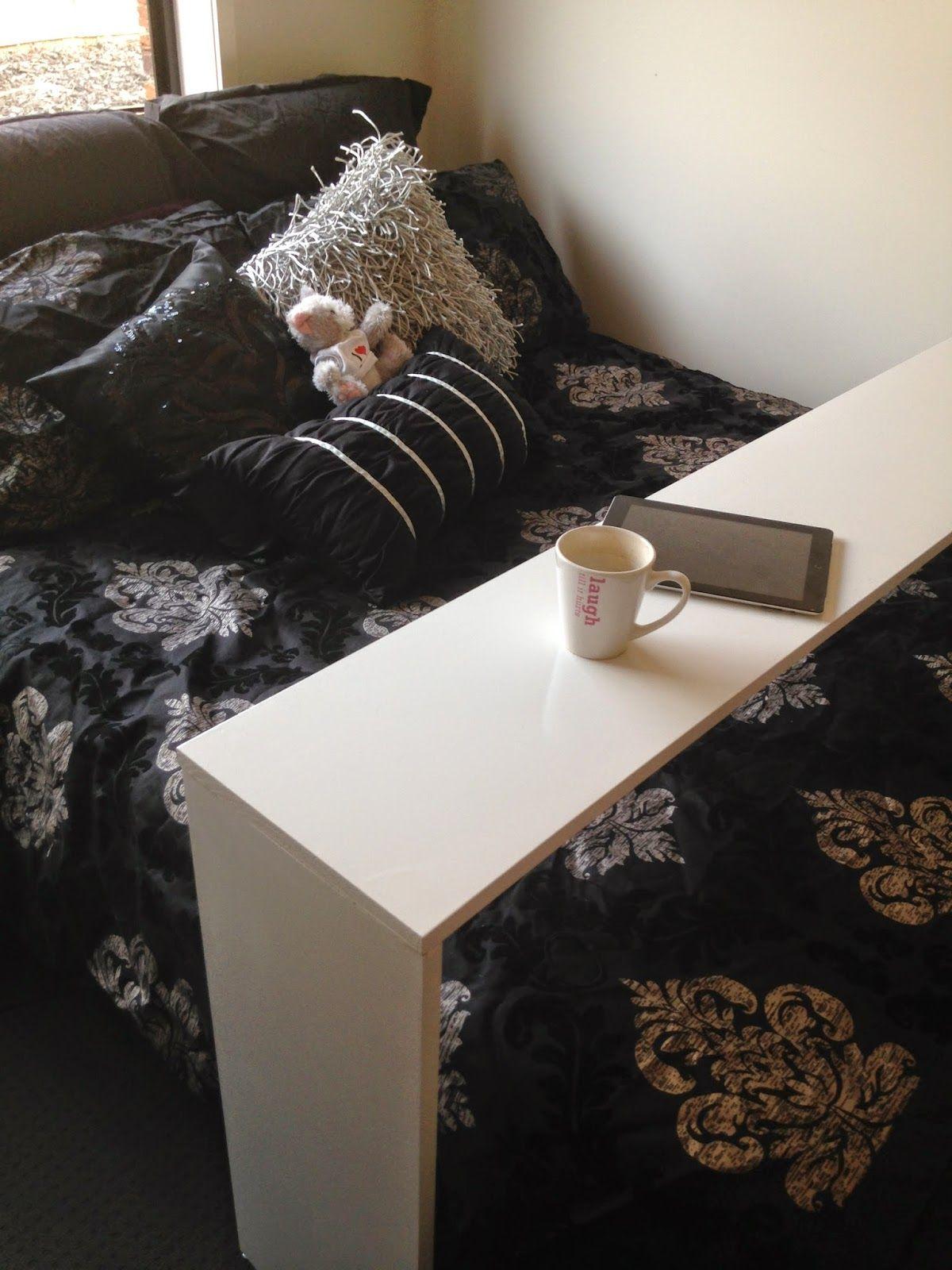 Love Tris: DIY Bed Desk   Replica Ikea Malm Occasional Table