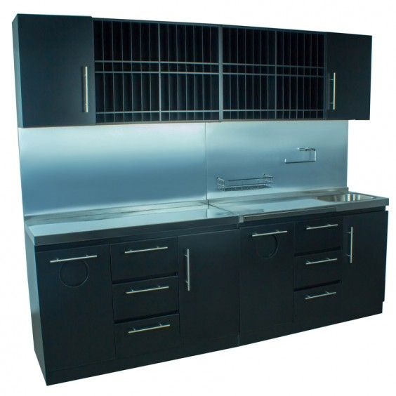 Icarus Black Full Color Bar Station With Sink Future