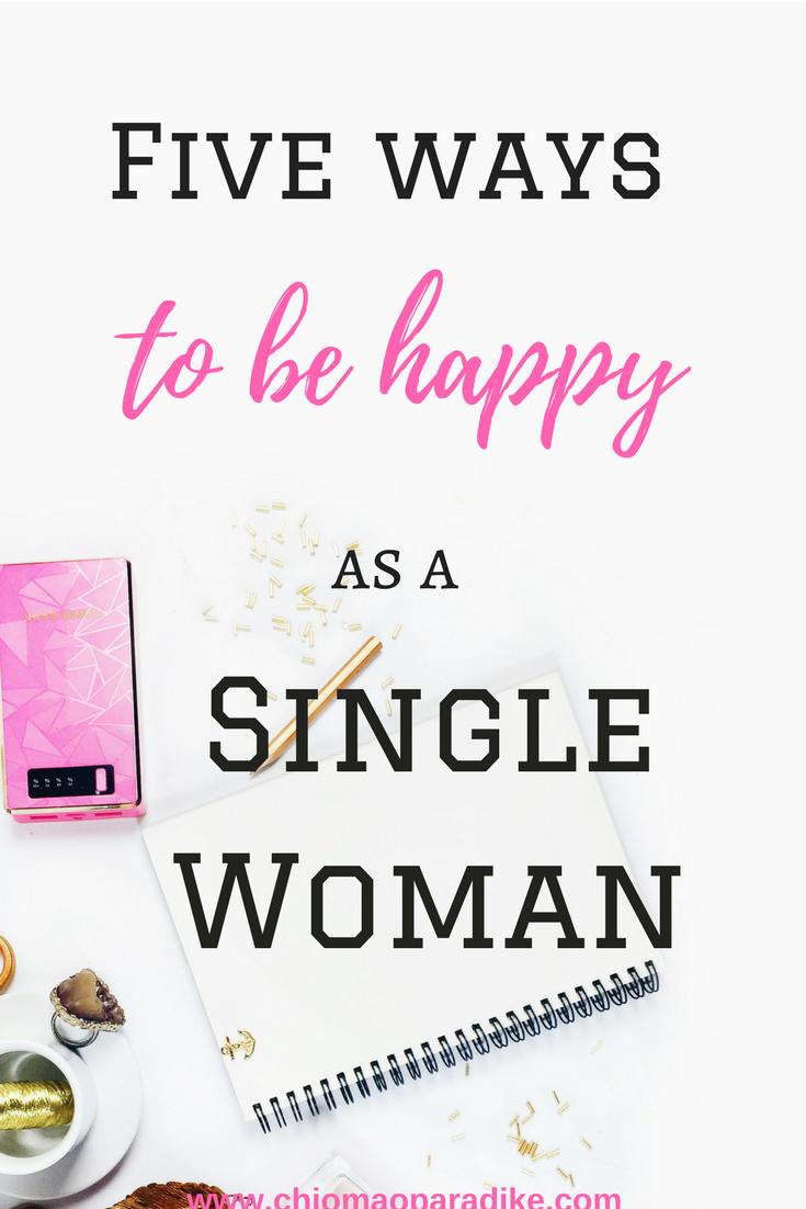 living as a single woman