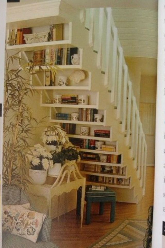 under stairs bookcase for the home pinterest