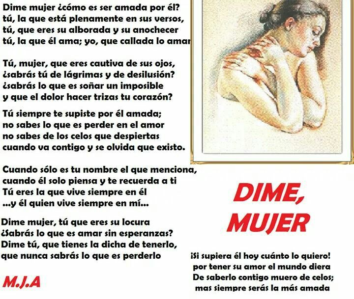 DIME, MUJER - TELL ME  WOMAN