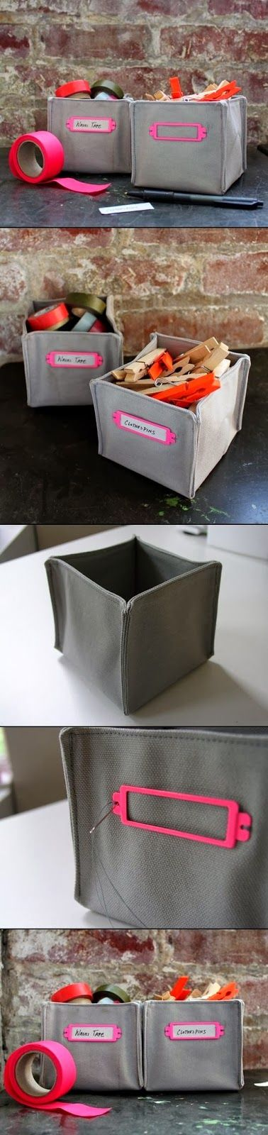 Caixas de tecido