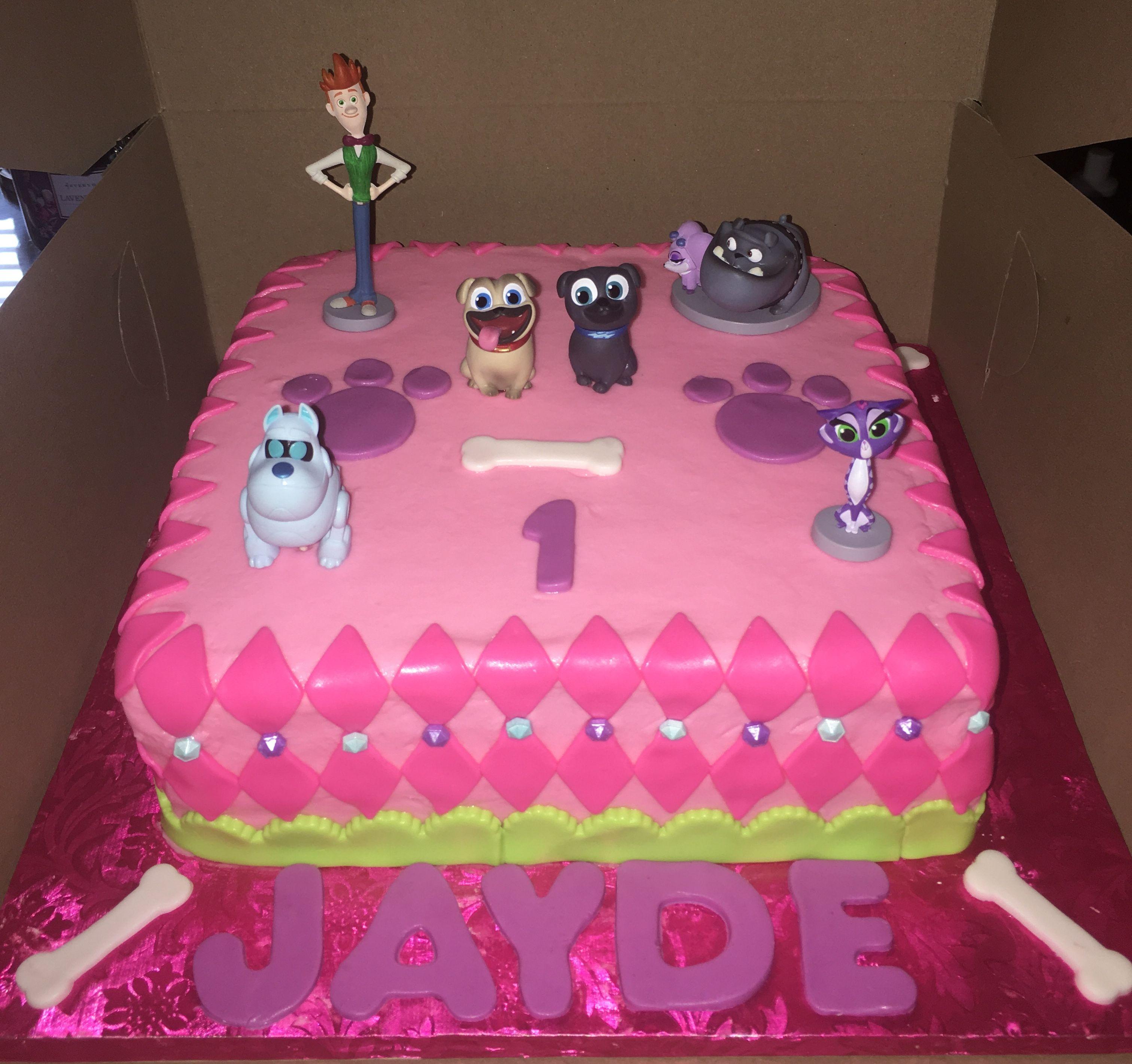 Puppy Dog Pals Cake Birthday Cake Girls Paw Birthday 3rd