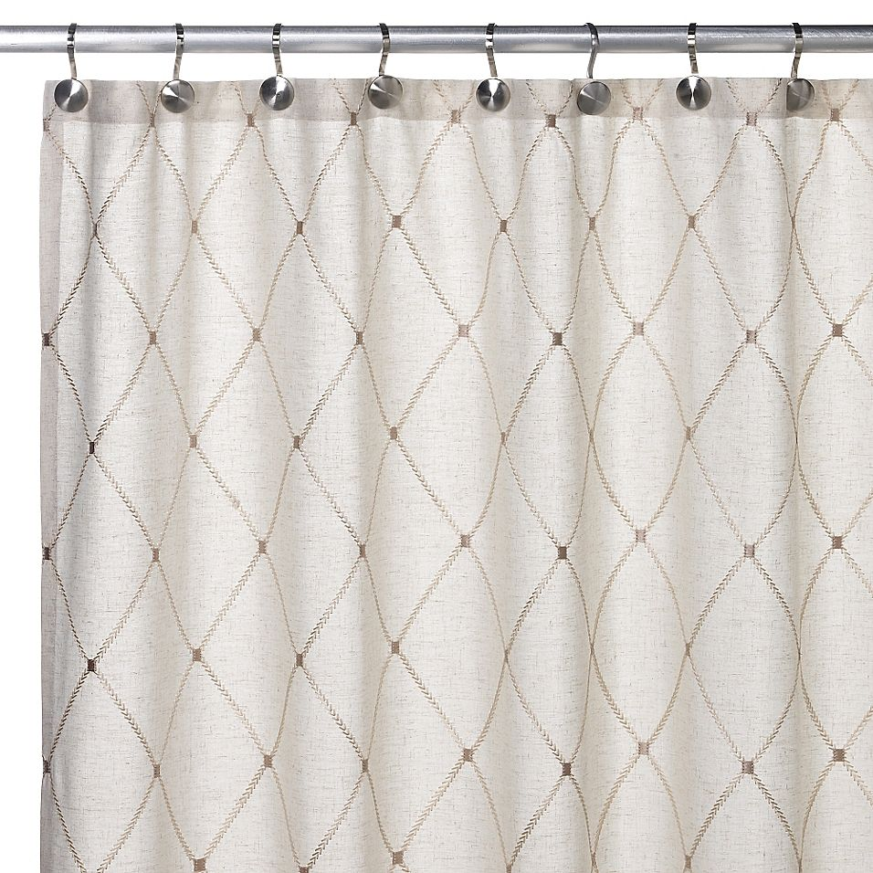 Wellington 70 X 72 Shower Curtain Natural In 2020 Fabric