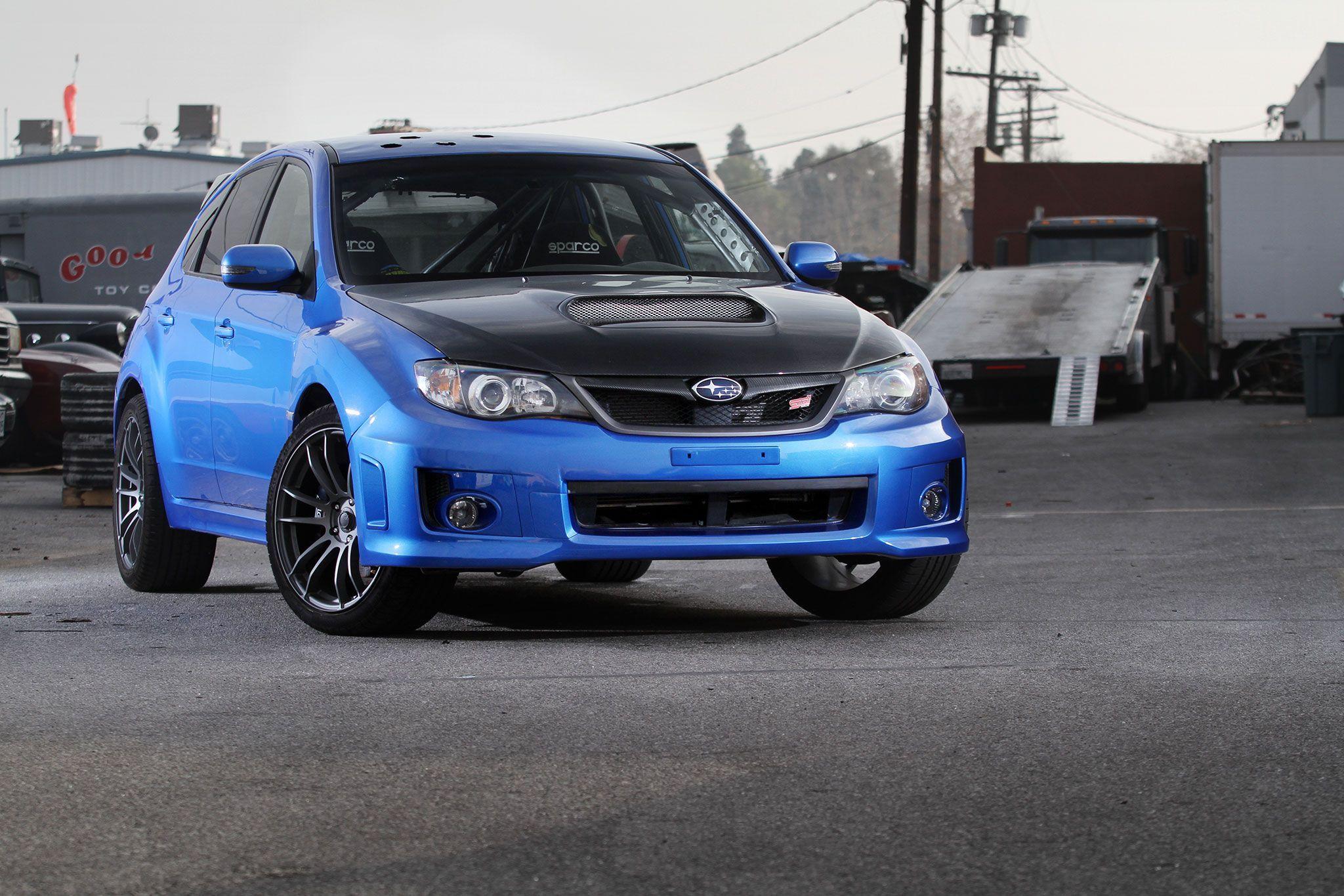 Furious 7 inside track 2014 subaru wrx sti