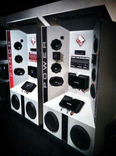 Branded Display Car Audio Shops Car Audio Store Car Decor