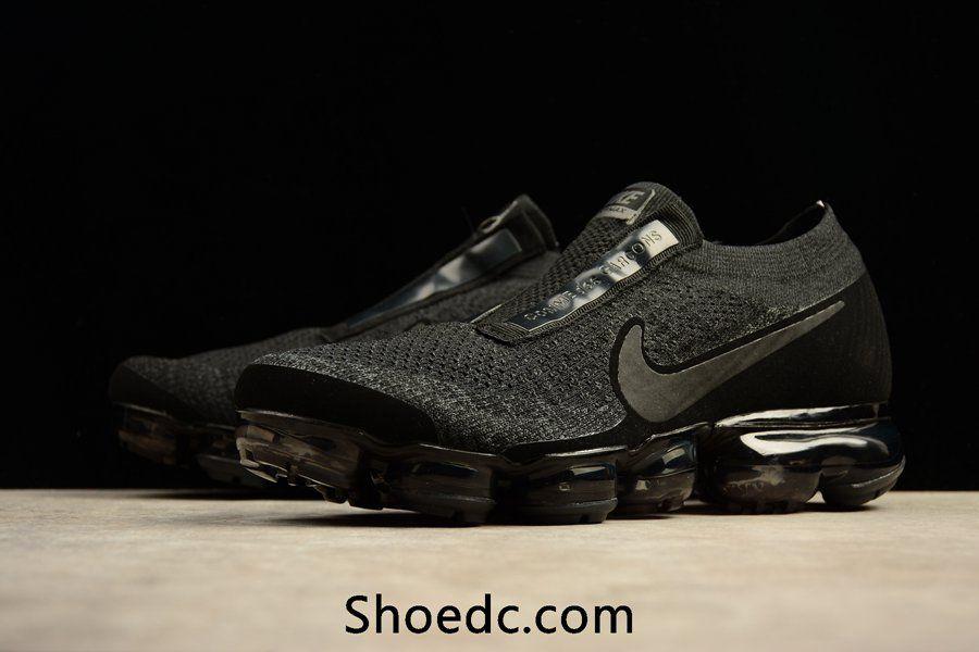 bda5d55a5432 New Nike Air VaporMax 2018 Flyknit Cool Black Women Men