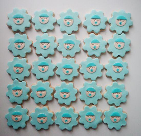 Hoşgeldin Bebek Kurabiyesi (Baby shower kurabiye) - Sevimli Şeyler