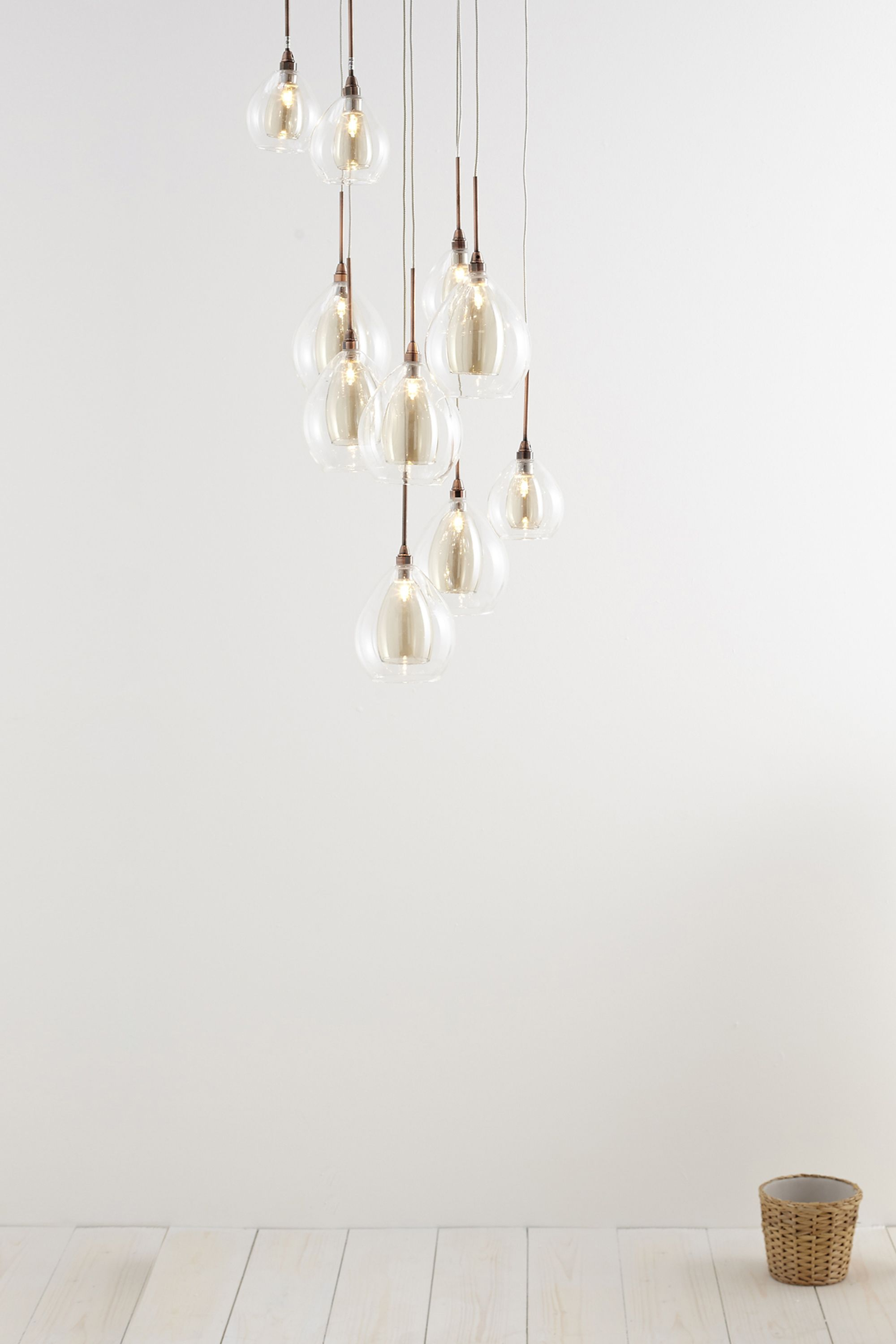 Carmella 10 Light Cluster Champagne Colour Bhs This Is Amazing Ceiling Lights