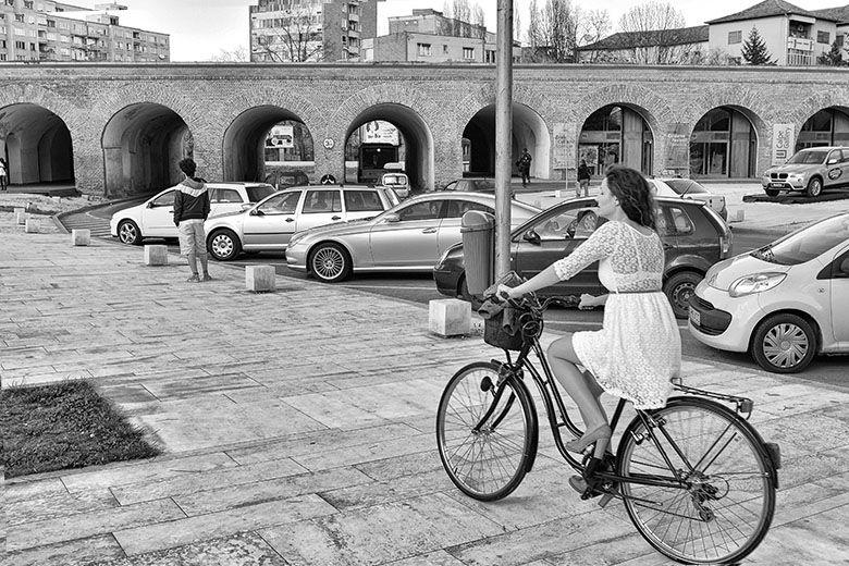 Dress & dutch bike!