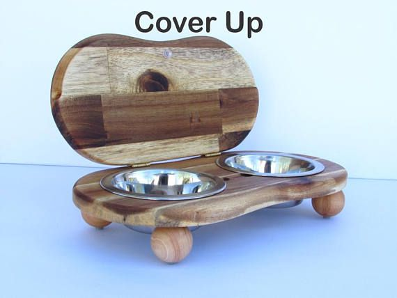 Pet Bowl Stand With Lid Cover Up Ii S Elevated Dog Bowl Holder Elevated Cat Dish Raised Pet Dishes Cat Bowl Holder Raised Pet Food Bowl Pet Bowls Stand Dog Bowl