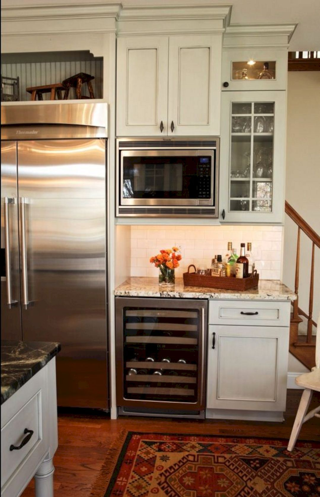 kitchen built cabinet in best for no beautiful microwave inspirations
